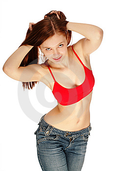 The Woman Royalty Free Stock Image - Image: 8633926