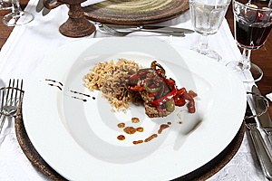 Gourmet Plate Stock Photography - Image: 8633942