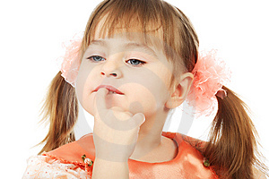 Proud Girl Royalty Free Stock Photos - Image: 8633998