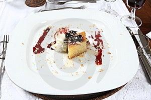 Dessert Plate Stock Image - Image: 8634011