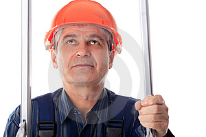 Serious Builder Stock Photos - Image: 8634043