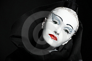 Theater Make-up Royalty Free Stock Photo - Image: 8634175