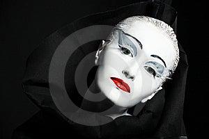 Theatermake-up Lizenzfreies Stockfoto - Bild: 8634175
