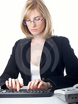 Businesswoman Royalty Free Stock Images - Image: 8634549