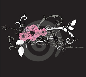Floral Background Royalty Free Stock Image - Image: 8634876