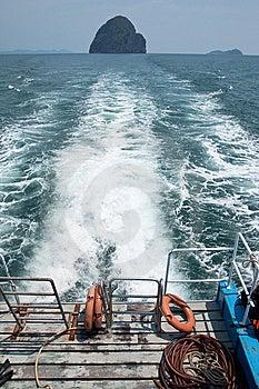 Thai Sea, Trang Province, Thailand. Royalty Free Stock Image - Image: 8634996