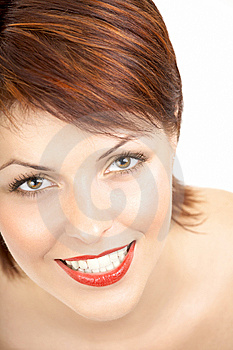The Smiling Beauty Stock Photo - Image: 8635000