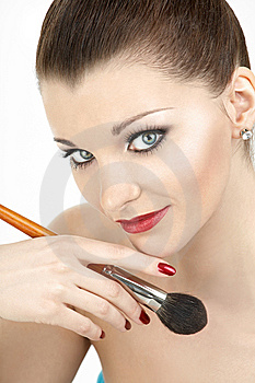 The Make-up Is Ended! Stock Photo - Image: 8635270