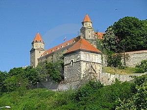 Bratislava Castle (Slovakia) Stock Photos - Image: 8635343