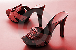 Woman Shoes Royalty Free Stock Photography - Image: 8635557