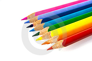 Colorfull Pencils Royalty Free Stock Images - Image: 8635779
