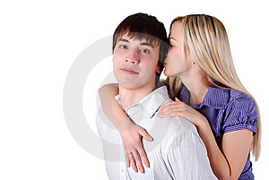 Young Loving Couple Stock Image - Image: 8635961