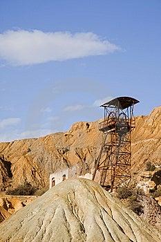 Mining Machinery Royalty Free Stock Image - Image: 8636076