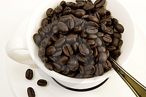 Cup Of Beans Stock Photo - Image: 8636120