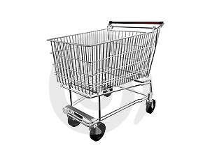 Shopping Cart Stock Image - Image: 8636341