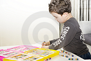 Young Artist Royalty Free Stock Photo - Image: 8636615
