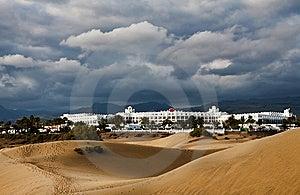 Dunes Hotel Royalty Free Stock Image - Image: 8636706