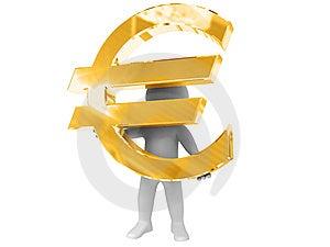 Ik Heb Euro. Stock Foto's - Afbeelding: 8636763