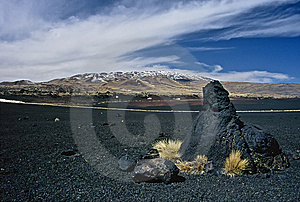 Rocks In Volcanic Landscape In Argentina,Argentina Royalty Free Stock Image - Image: 8637226