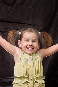 Playful Girl Stock Photography - Image: 8637322