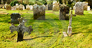 Dreamy Graveyard Royalty Free Stock Photography - Image: 8637327