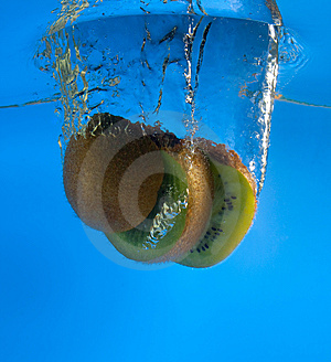 Kiwi In Water Stock Photo - Image: 8637570