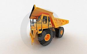 Yellow Dump Stock Images - Image: 8637964