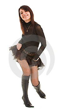 Playful Girl Stock Photo - Image: 8638080