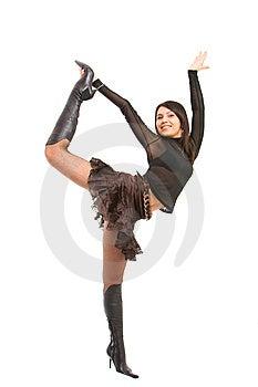 Dziewczyna Figlarnie Fotografia Stock - Obraz: 8638172