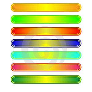 Zeven Webknopen Stock Foto's - Afbeelding: 8638173