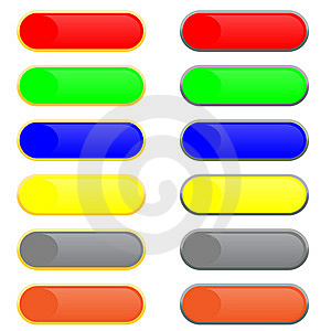 Buttons With Patches Of Light Royalty Free Stock Photos - Image: 8638178