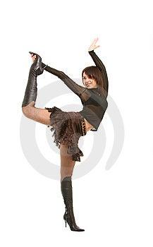 Speels Meisje Royalty-vrije Stock Foto - Afbeelding: 8638185