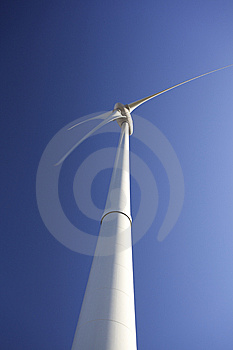 Wind Turbines For Green Energy Royalty Free Stock Photography - Image: 8638497