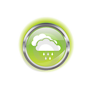 Glowing Environmental Button Stock Photo - Image: 8638550