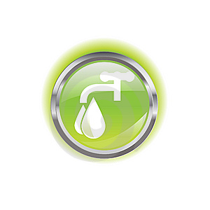 Glowing Environmental Button Stock Photos - Image: 8638553