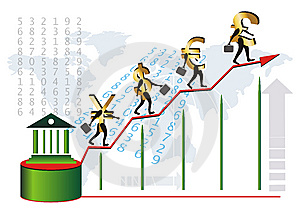 The Growing Power Of World Currencys Stock Images - Image: 8638694