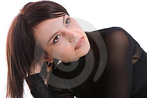 Portrait Girl Royalty Free Stock Photos - Image: 8638758