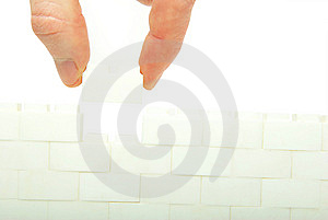 Construction The Wall Royalty Free Stock Photo - Image: 8638915