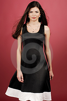 Woman In Studio Royalty Free Stock Photography - Image: 8638967