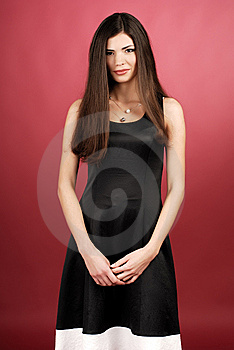Woman In Studio Stock Images - Image: 8638994
