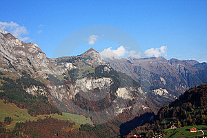 Alpes Suisses Image stock - Image: 8639071