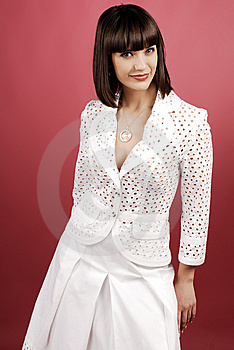 Woman In Studio Stock Photography - Image: 8639072