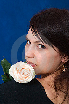 Portrait Girl Stock Image - Image: 8639091