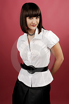 Businesswoman Royalty Free Stock Photography - Image: 8639117