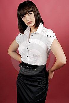 Donna Di Affari Fotografia Stock - Immagine: 8639130