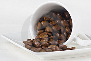 Coffee And Beans Stock Photos - Image: 8639213