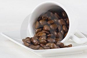 Kaffee Und Bohnen Stockfotos - Bild: 8639213