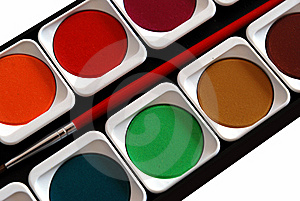 Painting Colors Stock Image - Image: 8639281