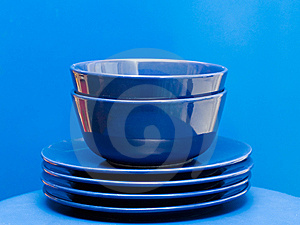 Plates And Bowls Stock Photos - Image: 8639303