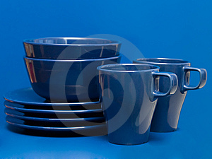 Plates And Cups Stock Photos - Image: 8639333